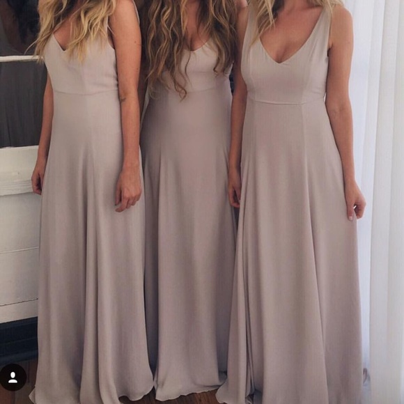 cacf38c6489 Show me your Mumu Bridesmaid Dress Small Jenn Maxi.  M 5ab82633f9e501134409f1ff